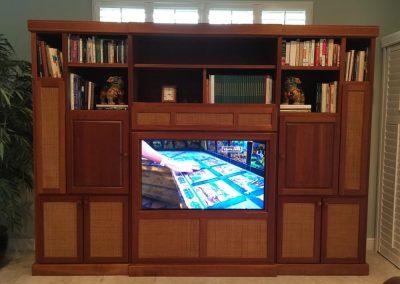 Discrete Media Room Design