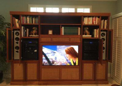 Low-Mounted Media Room Design