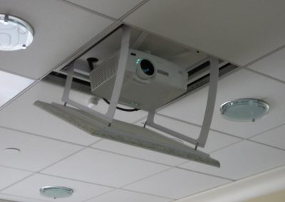 Detailed View of Commercial Projector