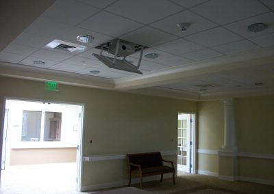 Projector Media Room for Commercial Use