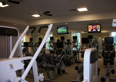 General Commercial Fitness Setup