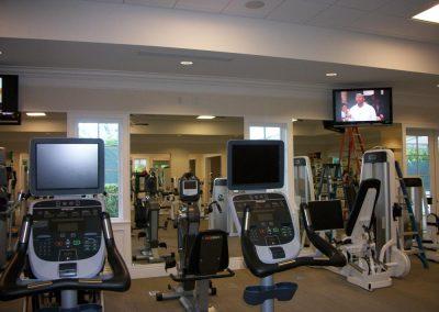 Commercial Fitness Media Installation
