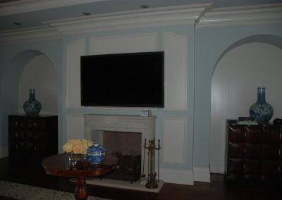 Non Obtrusive Media Room Design