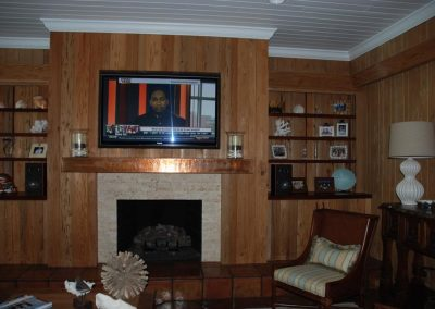 Well Furnished Classic Media Room