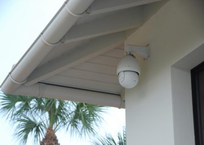 Surveillance Camera with a Garage View