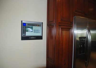 Surveillance Camera Unit Installed in Kitchen